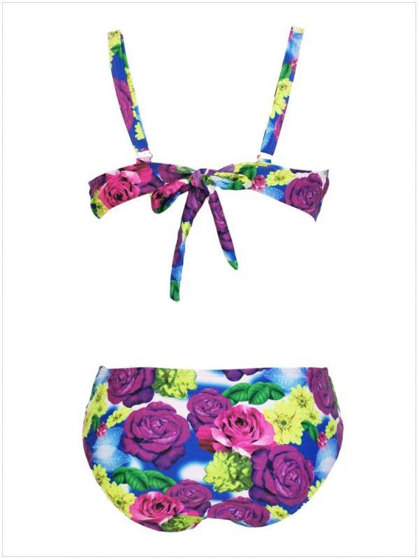 Big Girl Floral Pop Sweetheart Brazilian Bikini