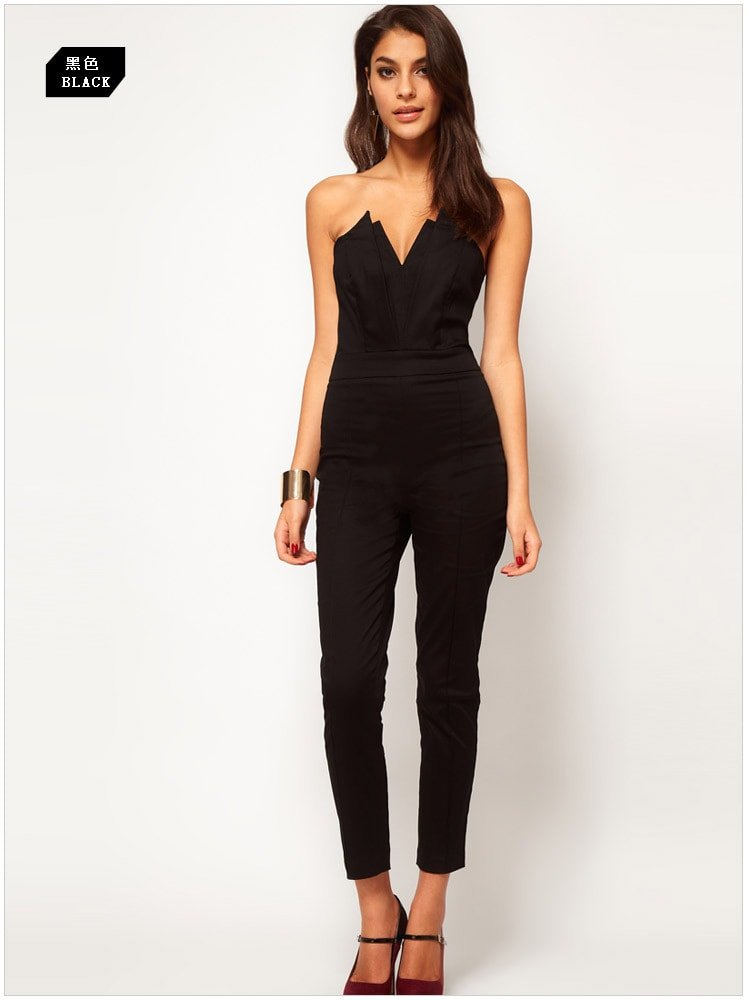 Elegant Buy Mojessy Womens Strapless Stripe High Waist Wide Leg Long Pants Jumpsuits Rompers And Other Jumpsuits, Rompers &amp Overalls At  Our Wide Selection Is Elegible For Free Shipping And Free Returns Mojessys Jumpsuits Are Veey