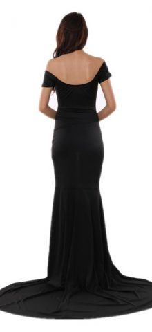 Black Elegent Women Long Formal Dresses