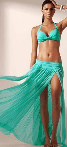 Cheap Long Summer Green Beach Dresses