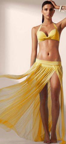 Cheap Long Summer Yellow Beach Dresses