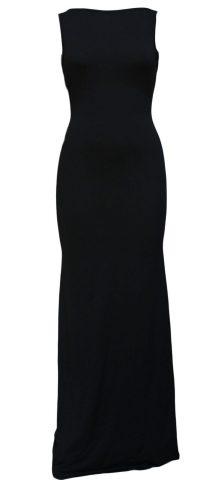 Cheap Sleeveless Long Black Prom Dresses