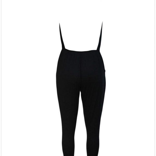 327cb751c9d Cheap Women Cute Deep V Neck Black Halter Neck Jumpsuit - Online ...
