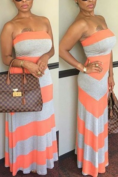 Neck Off The Shoulder Women Sundresses Long Summer Beach Dresses