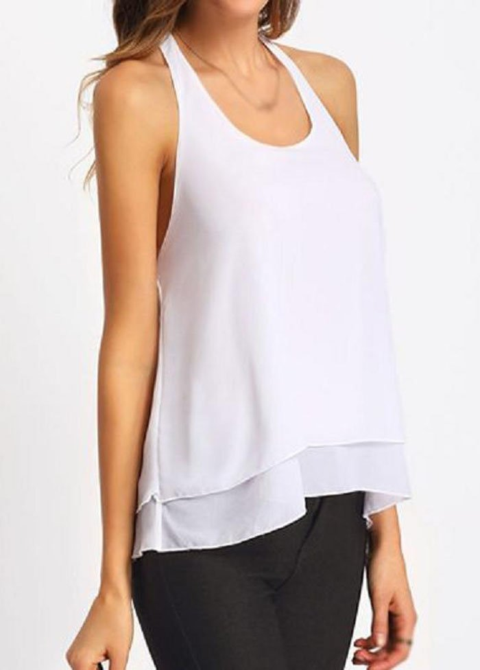 Women Halter White Off The Shoulder Blouse Online Store