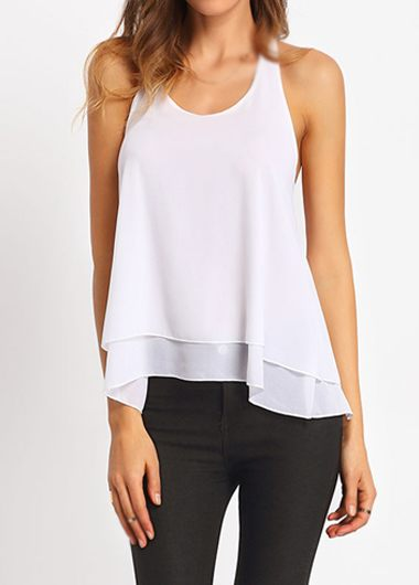 Women Halter White Off The Shoulder Blouse