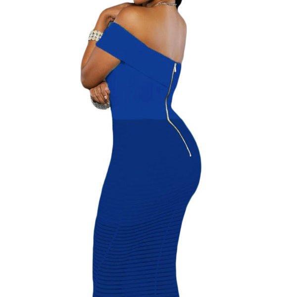 Cruises eugene royal blue bodycon mini dress near