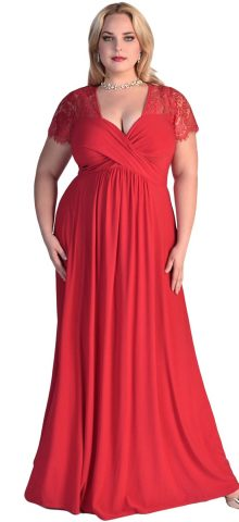 daad7dce2b Red Plus Size Gala Dresses Archives - Online Store for Women Sexy ...