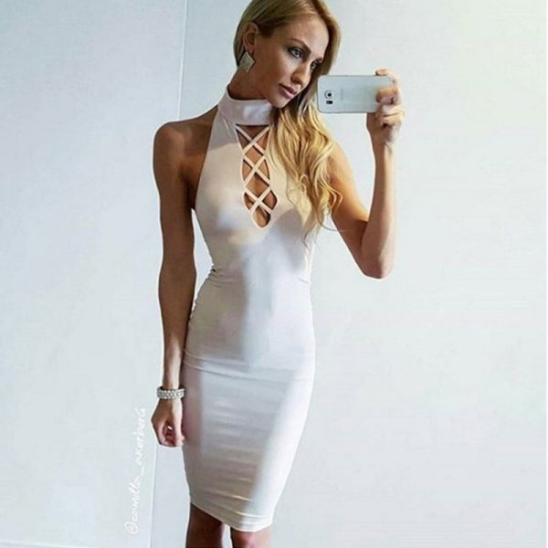 Sexy white cut out dresses topic
