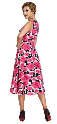 Rose Vintage Forever 21 Floral Skater Dress