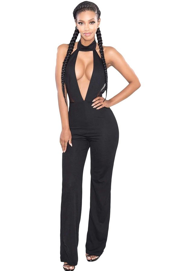 Buy low price, high quality halter neck jumpsuits with worldwide shipping on pimpfilmzcq.cf