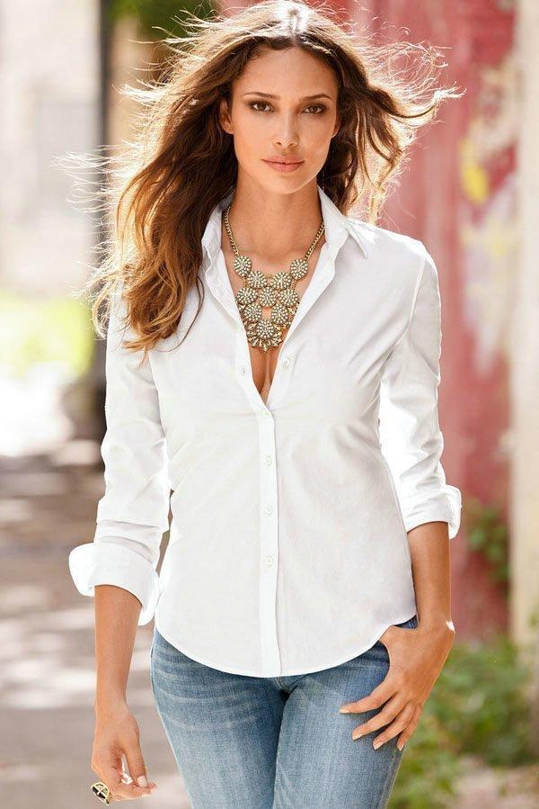 db073b752e Hualong Button Up Long Sleeve Womens Collared Shirt - Online Store ...