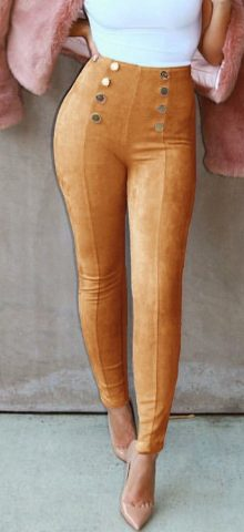Hualong Skinny Penceil High Waisted Leggings
