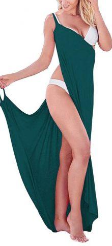 Hualong Spaghetti Strap Bathing Suit Cover Ups