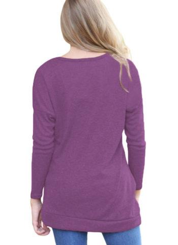 Hualong Spring Autumn Women's Long Sleeve T Shirts