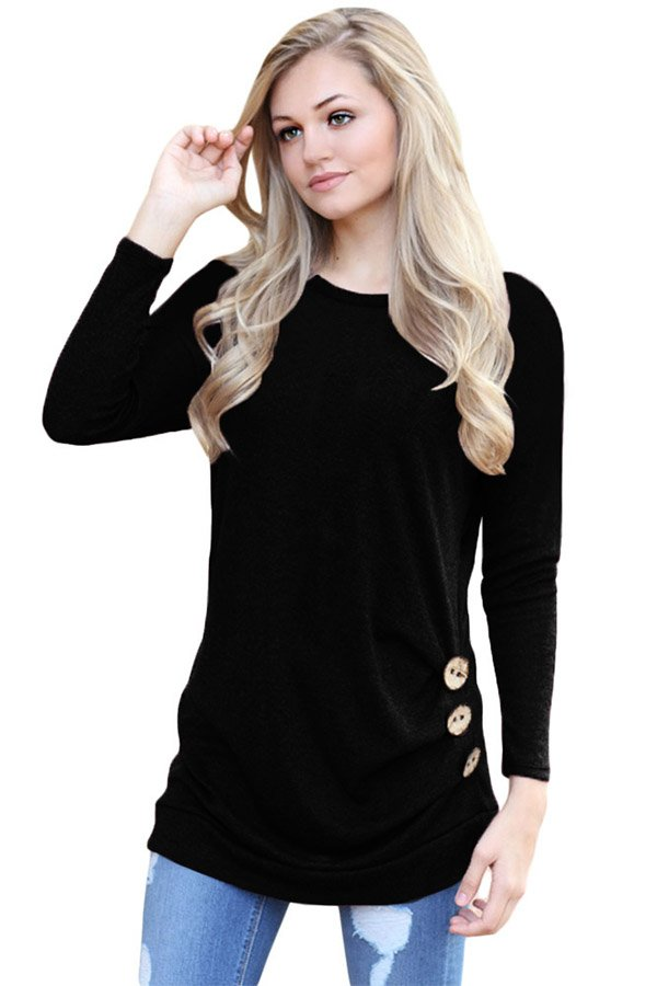 Hualong Spring Autumn Women's Long Sleeve T Shirts