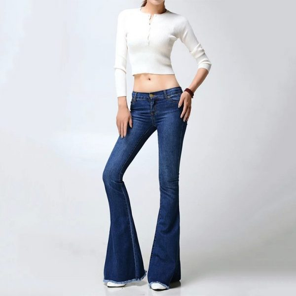 eff1e53148 Hualong High Quality Women Fashion Super Flare Jeans - Online Store ...