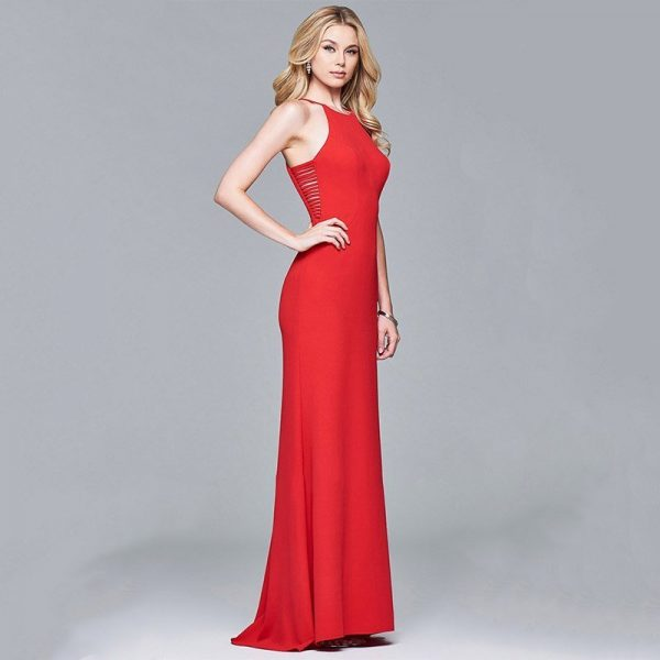 Hualong Party Deep V Neck Wedding Guest Dresses Online Store For