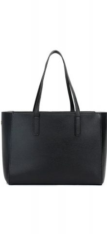 Hualong Fashion PU Black Leather Handbags