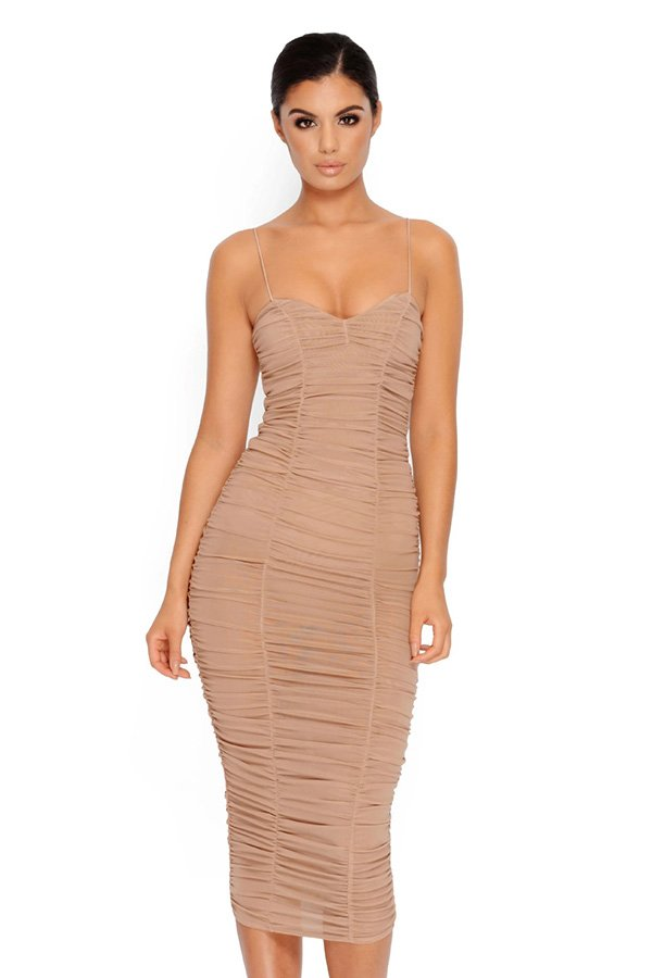 ba5cfd95d5a6 Hualong Sexy Club Strap Fitted Wrinkled Dress - Online Store for Women Sexy  Dresses meta name