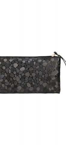 Hualong Stone Grained Black Cheap Womens Purses