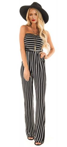 bd3961f832e9 Summer Striped Jumpsuits Archives - Online Store for Women Sexy ...