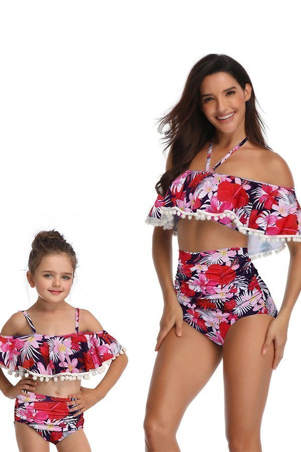 5d43085703f Mom And Baby Matching Bathing Suits with free shipping<meta name ...