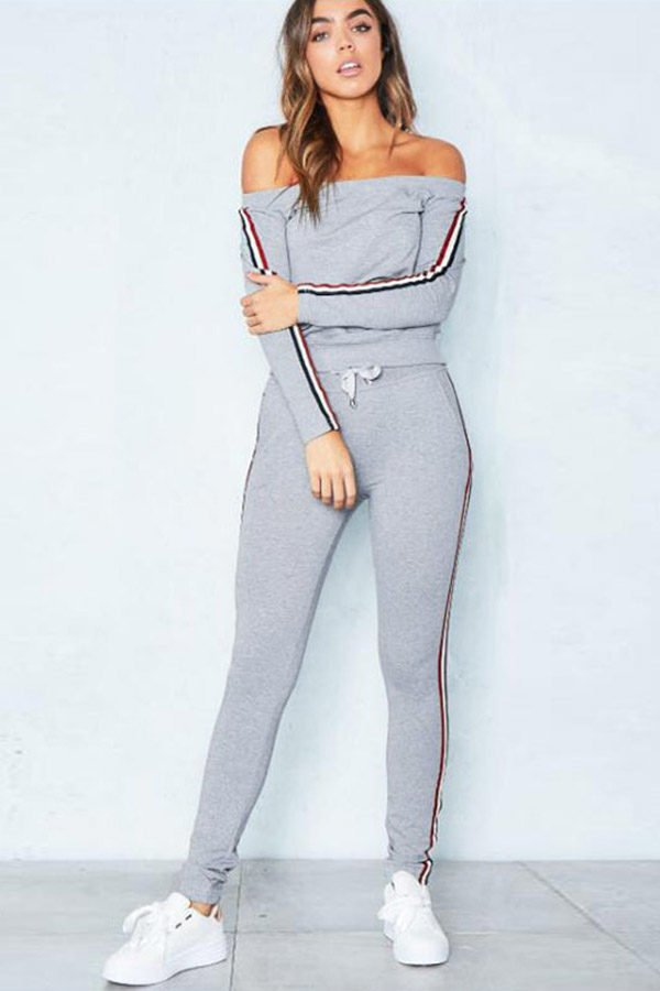 1d8e9604df84 Women's Activewear Sets with off shoulder design<meta name=