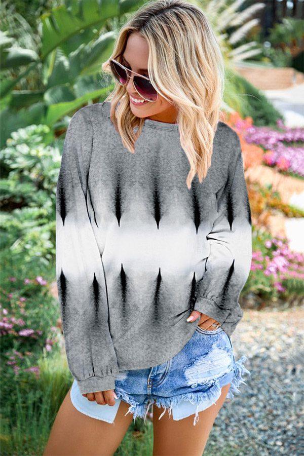 Hualong Cute Long Sleeve O Neck Pullover Ladies Sweatshirts