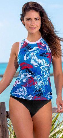 Hualong Cute Printed Tummy Control Two Piece Swimwear
