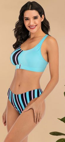 Hualong Cute Summer Girl Printed Bikinis Swimwear