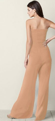 Hualong Sexy Off The Shoulder Wide Leg Strapless Jumpsuits