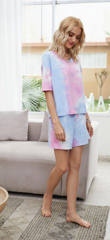 Hualong Short Sleeve Top With Short Pant Summer Casual Outfits